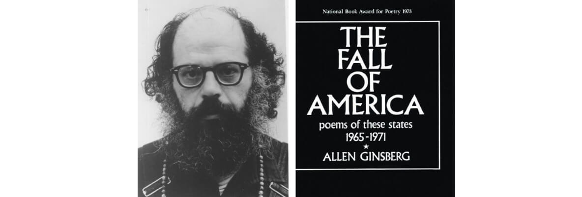 Allen Ginsberg accepts the 1974 National Book Award in Poetry for <em>The Fall of America: Poems of these States, 1965-1971</em>
