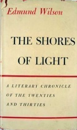 The Shores of Light by Edmund Wilson book cover