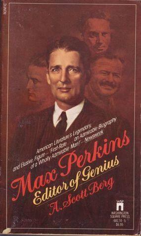 Book cover Max Perkins: Editor of Genius