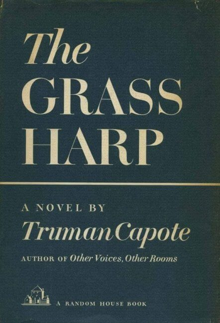 first edition cover of Truman Capote's The Grass Harp