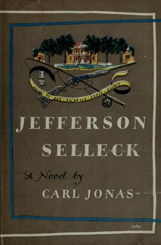 Cover of Jefferson Selleck by Carl Jonas