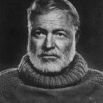 Photo of author Ernest Hemingway