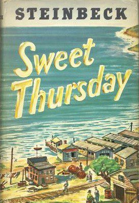 1955_Sweet Thursday by John Steinbeck book cover