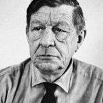 Photo of poet W. H. Auden