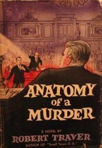 cover of Anatomy of a Murder by Robert Traver