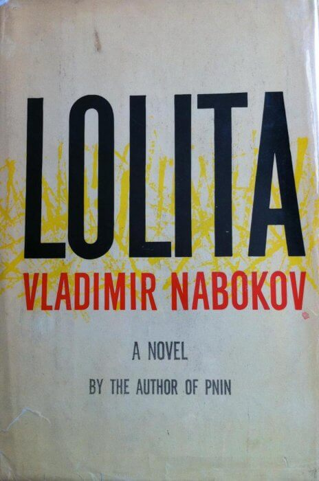 cover of Lolita by Vladimir Nabokov