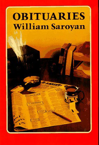 book jacket for william saran's Obituaries