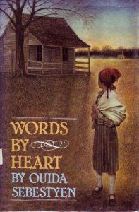 Book Jacket for Words by Heart