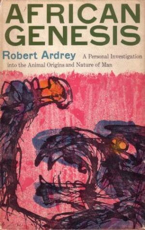 African Genesis by Robert Ardrey book cover