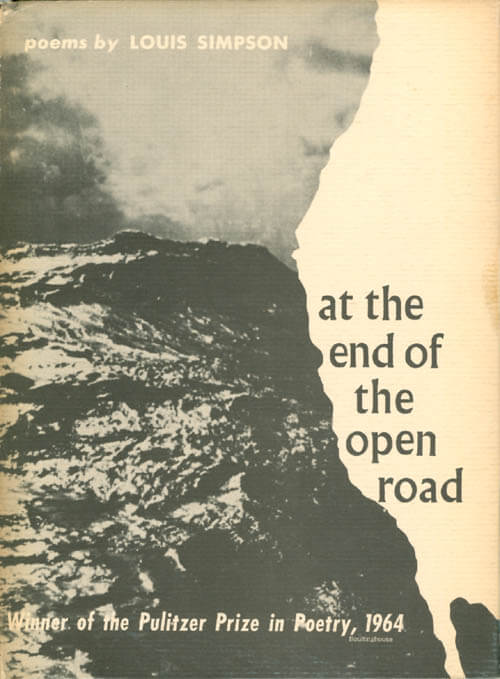 At the End of the Open Road by louis simpson book cover