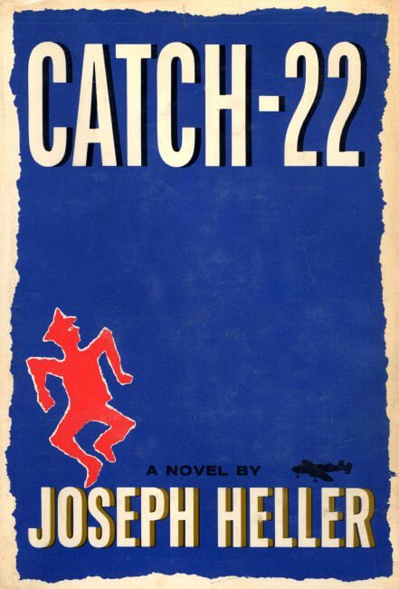 Catch-22 by Joseph Heller book cover