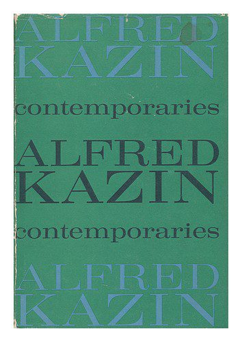 Contemporaries by Alfred Kazin book cover