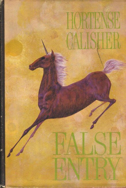 False Entry by Hortense Calisher book cover