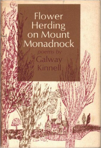 Flower Herding on Mount Monadnock by Galway Kinnell book cover