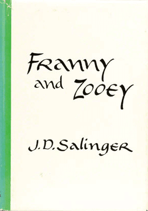 Franny and Zooey by j d salinger book cover