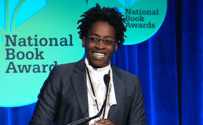 Jacqueline Woodson accepts the 2014 National Book Award in Young People's Literature for Brown Girl Dreaming