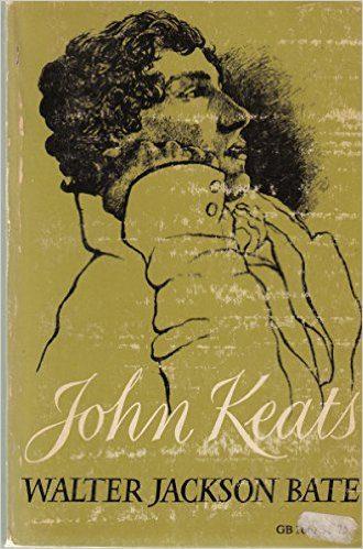 John Keats by walter jackson bate bok cover