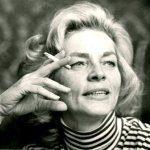 Lauren Bacall - author photo