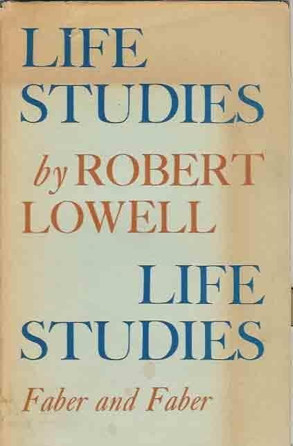 Life Studies by robert lowell book cover