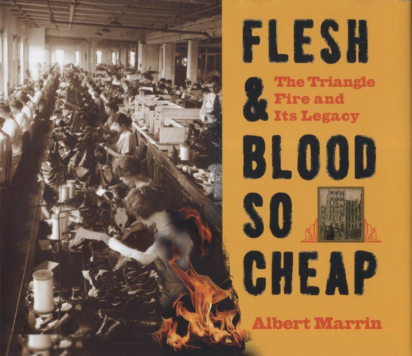 Marrin's Flesh & Blood So Cheap book cover