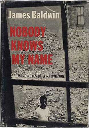 Nobody Knows My Name by James Baldwin book cover