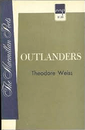 Outlanders by theodore weiss book cover