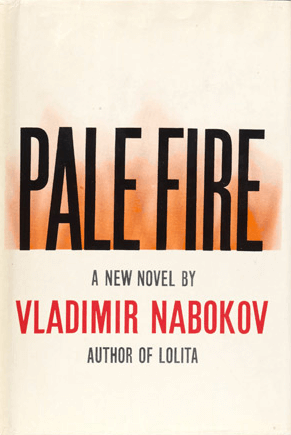 Pale Fire by Vladimir Nabokov book cover