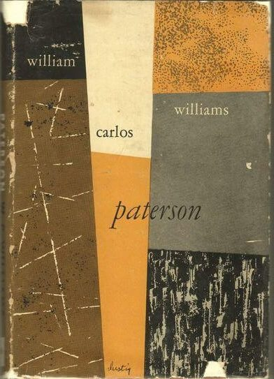 Paterson by William Carlos William book cover