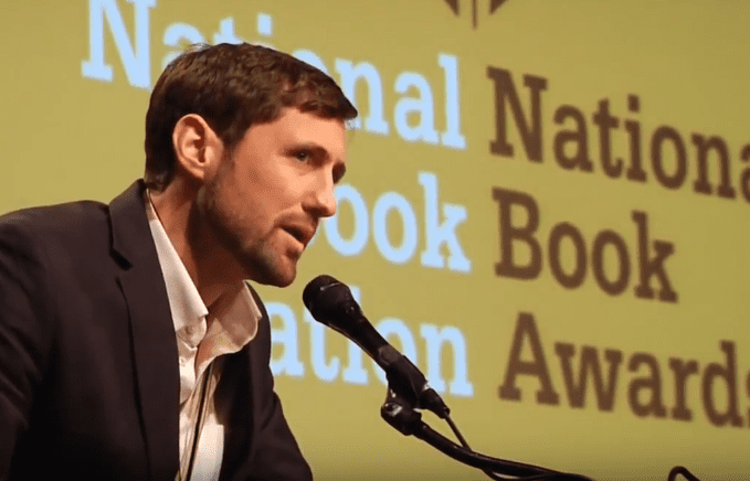 Phil Klay reads from Redeployment at 2014 NBA Finalists Reading
