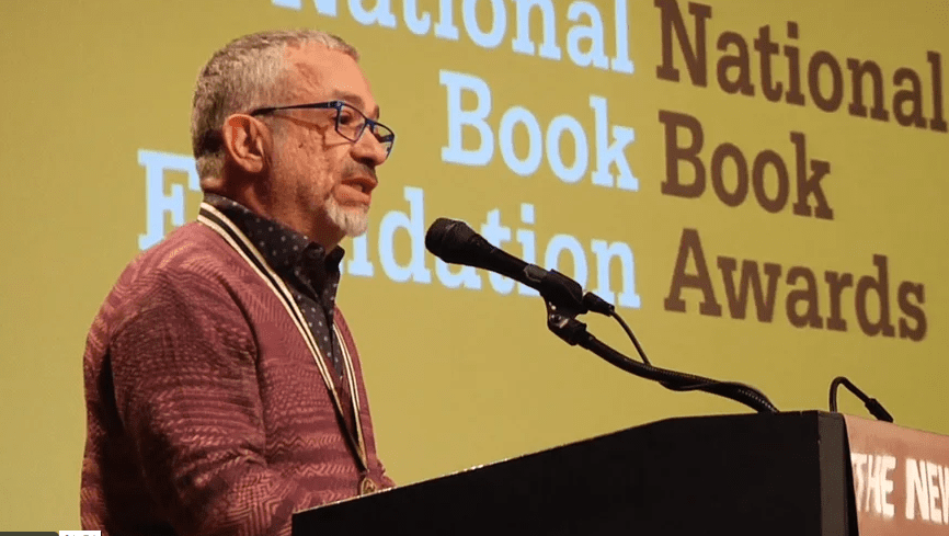 Rabih Alameddine reads from An Unnecessary Woman at 2014 NBA Finalists Reading