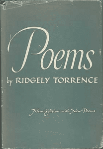 Ridgely Torrence - Poems, book cover