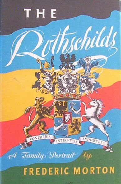 The Rothschilds by Frederic Morton book cover