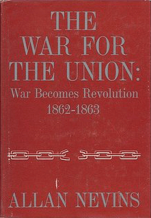 The War for the Union, Vol. I by Allan Nevins book cover.png