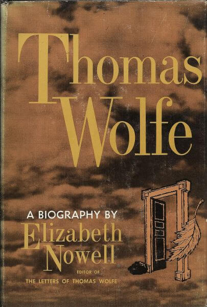 Thomas Wolfe by Elizabeth Nowell book cover