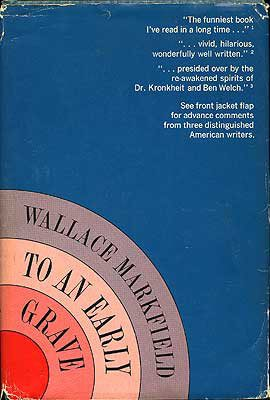 To an Early Grave by Wallace Markfield book cover