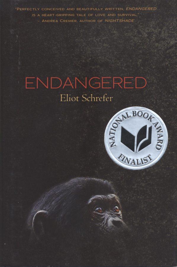 Eliot Schrefer's Endangered book cover