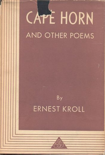 Cape Horn and Other Poems by Ernest Kroll book cover