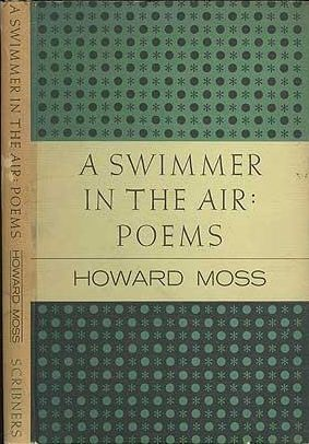 cover of A Swimmer In The Air by Howard Moss
