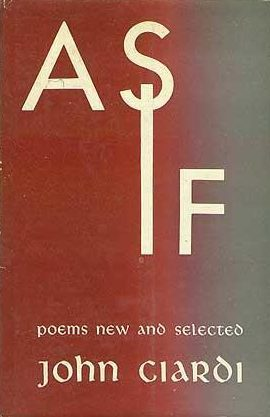 cover of As If by John Ciardi