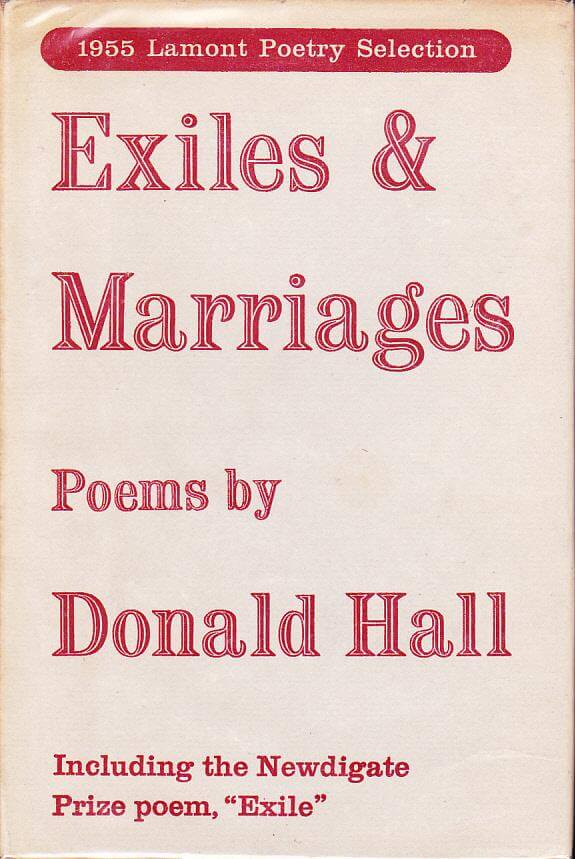 cover of Exiles and Marriages by Donald Hall