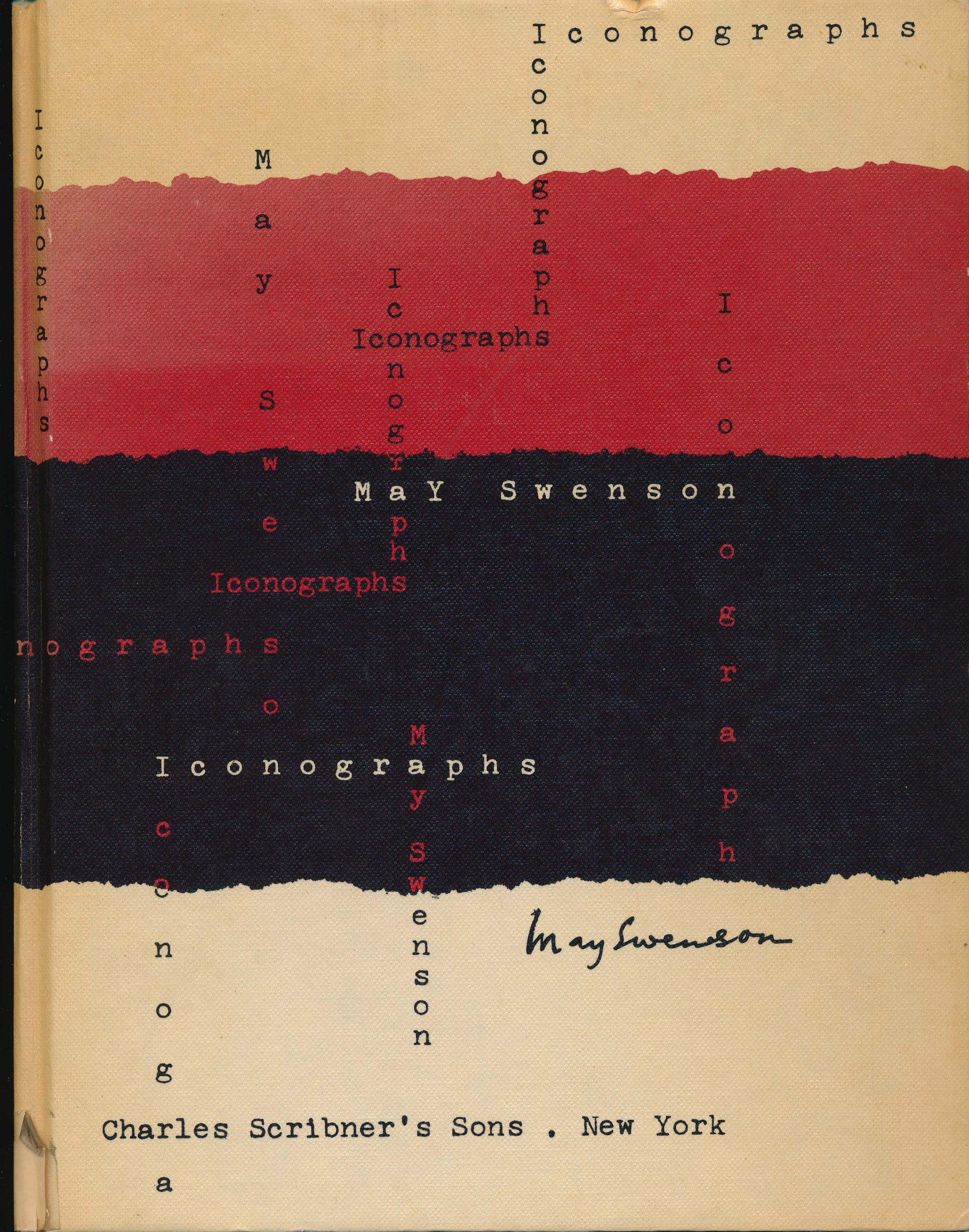 cover of Iconographs by May Swenson