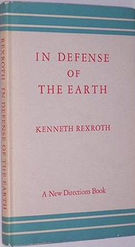 cover of In Defense of the Earth by Kenneth Rexroth