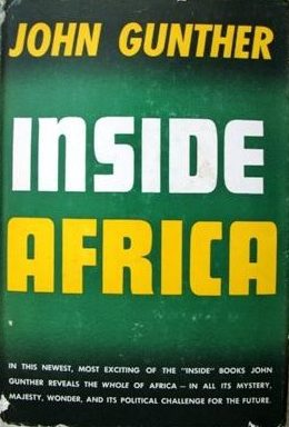cover of Inside Africa by John Gunther