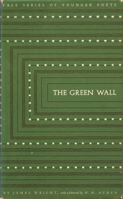 cover of The Green Wall by James Wright