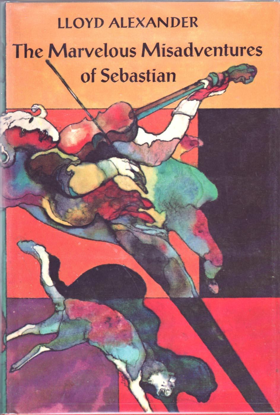 cover of The Marvelous Misadventures of Sebastian by Lloyd Alexander