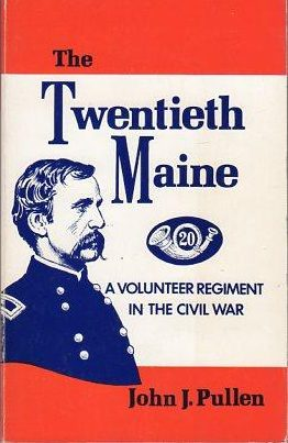 cover of the Twentieth Maine by John J Pullen