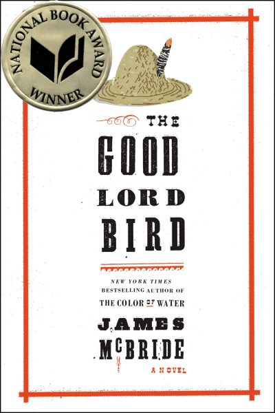 The Good Lord Bird, by James McBride book cover