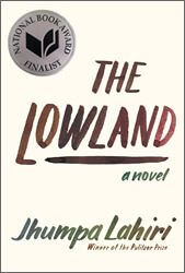 The Lowland by Jhumpa Lahiri book cover
