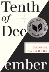 The Tenth of December by George Saunders book cover