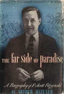 cover of The Far Side of Paradise by Arthur Mizener